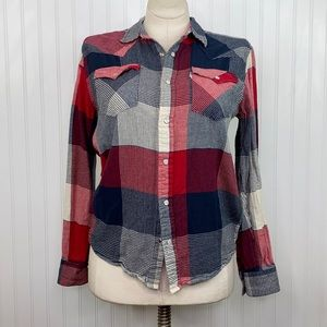LEVI'S: Snap Flannel